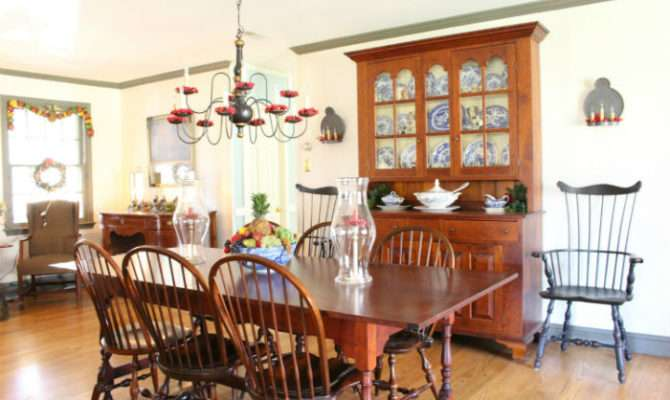 Williamsburg Style Know Love Vintage American Home