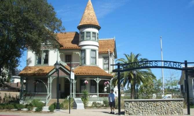 Woelke Stoffel Queen Anne Victorian House Anaheim Front