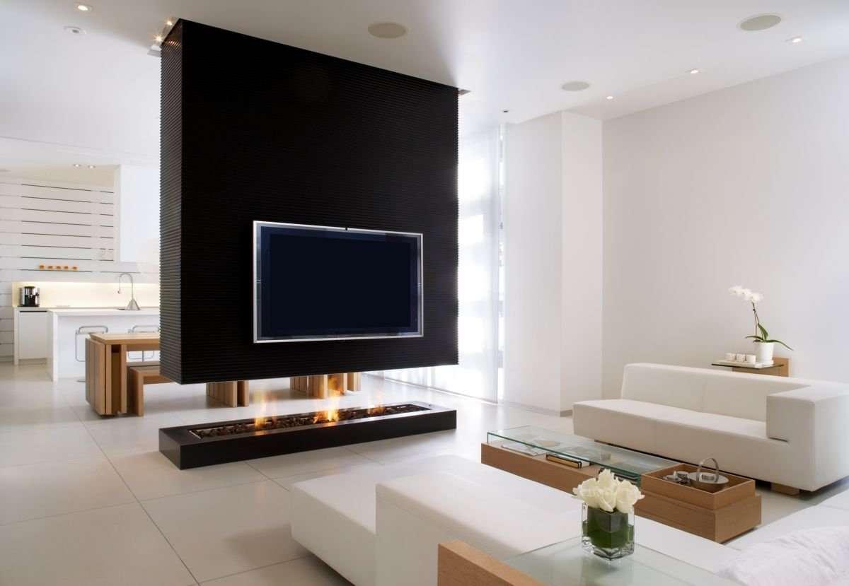 Wohnzimmer Fernsehwand Exklusive Ideen Top