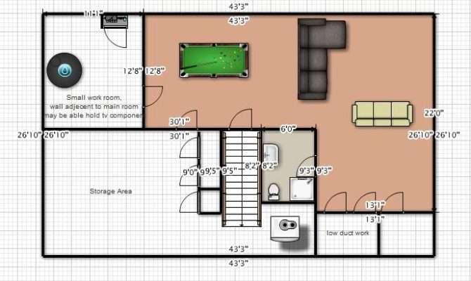Wolverine Den Perfect Man Cave Home Plans Blueprints