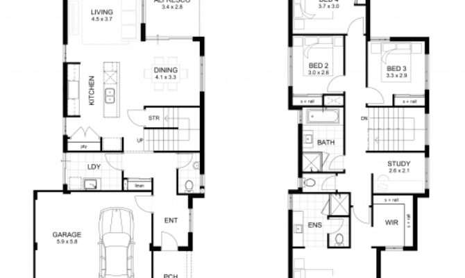 Wonderful Double Storey Bedroom House Designs Perth Apg