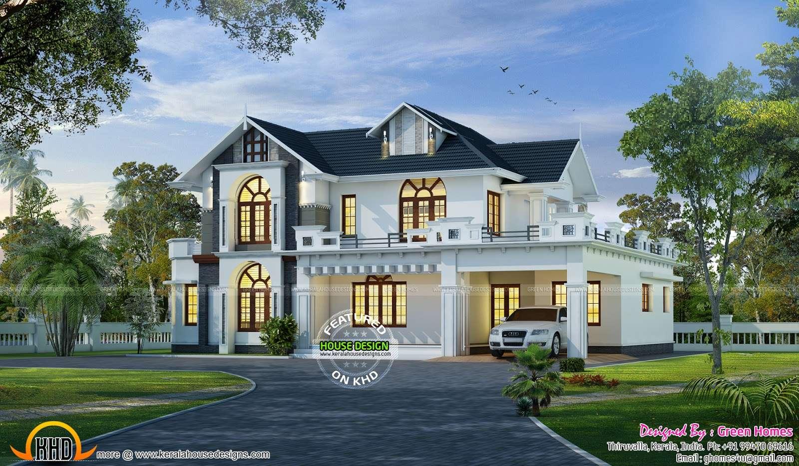 Wonderful House Design Kerala Home Floor Plans