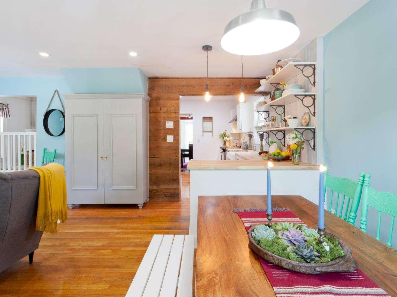 Wood Kitchen Table Designs Ideas Hgtv
