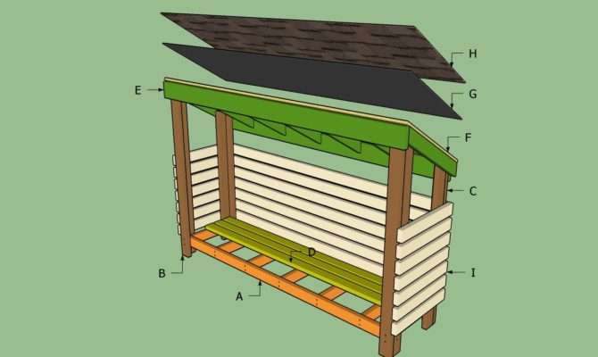 Wood Shed Howtospecialist Build Step Diy Plans