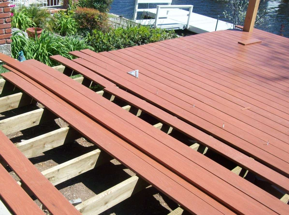 Wooden Deck Here Means Some Unclear Sometimes