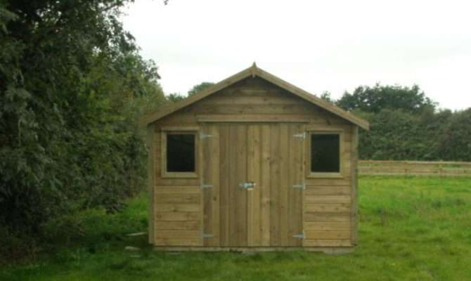 Wooden Garden Sheds Living Healthy Life Steel