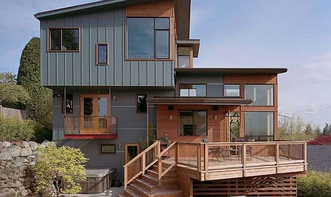 Wooden House Design Home