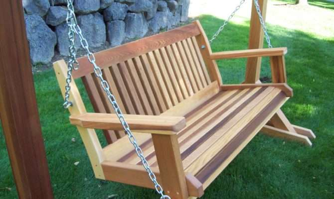 Wooden Porch Swing Pics