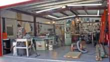 Woodshop Includes Harley Corner
