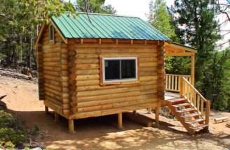 Woodwork Easy Cabin Plan Pdf Plans