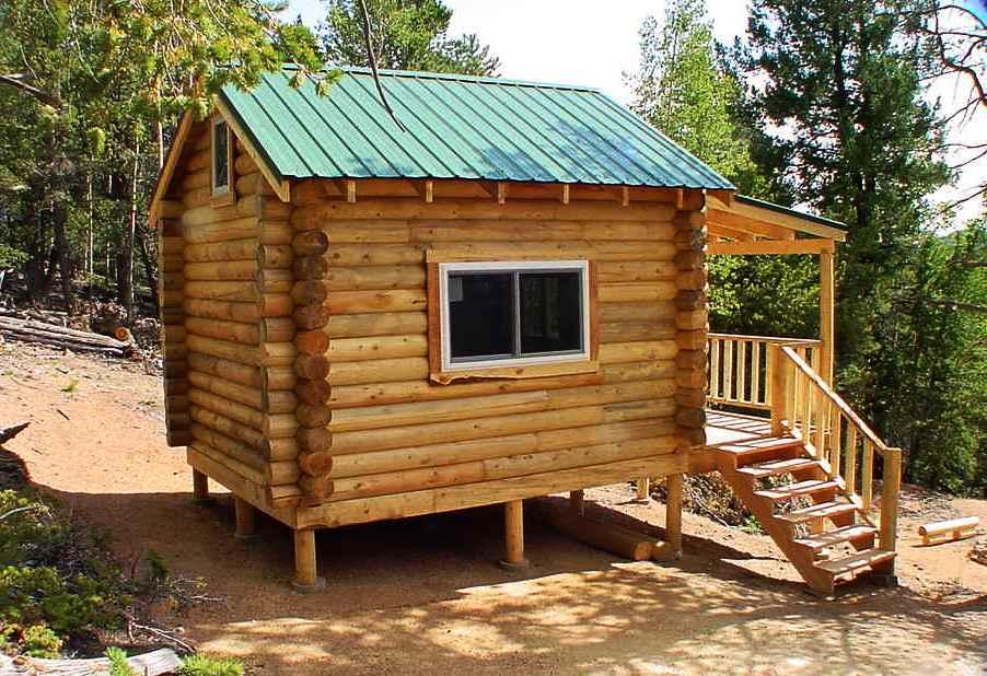 Woodwork Easy Cabin Plan Pdf Plans