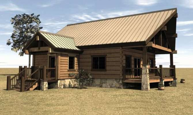 Woodworking Cabin House Plans Covered Porch Pdf