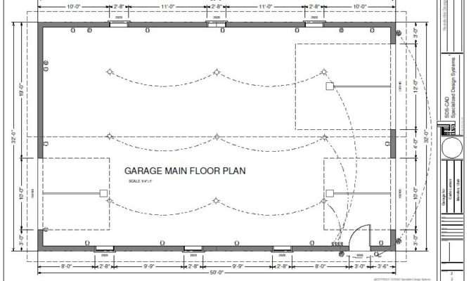 Workshop Garage Plans