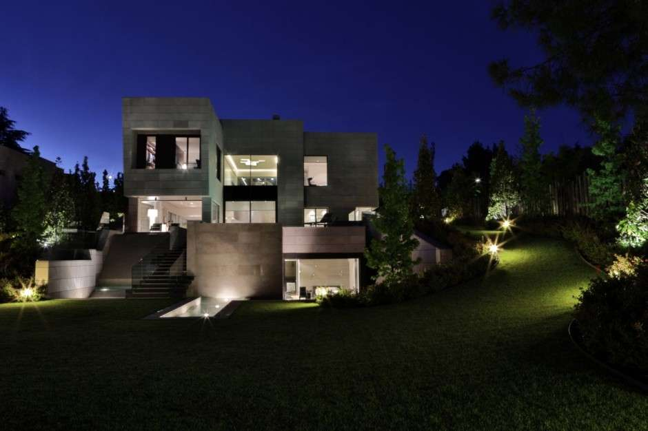 World Architecture Modern Mansion Madrid Cero