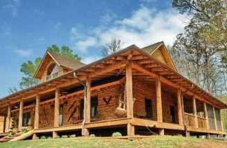 Wrap Around Porch House Plans Pole Barn Homes Pinterest