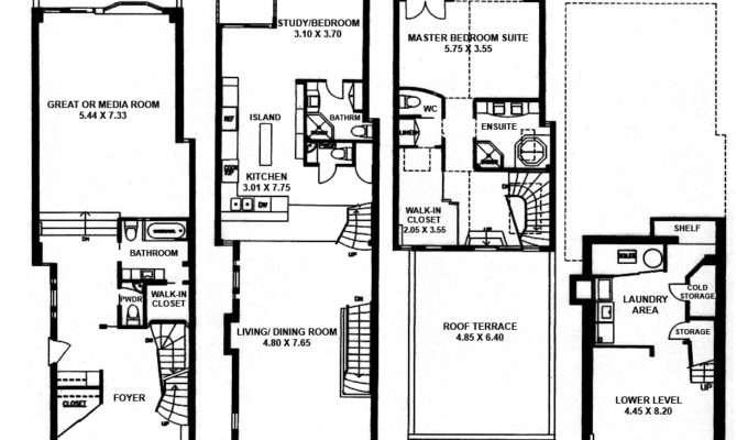 Yorkville Annex Toronto Houses Boswell Avenue Floor Plans Video