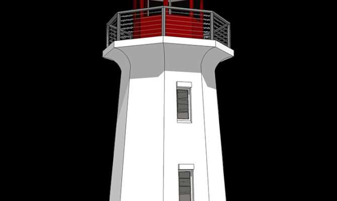Your Very Own Lighthouse Beach Cad Available
