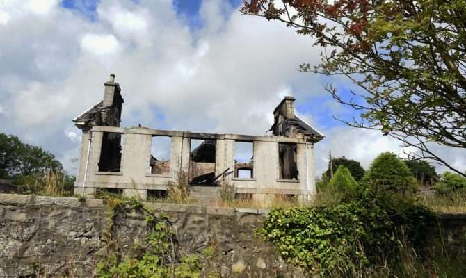 Youths Spotted Historic North East Building Before