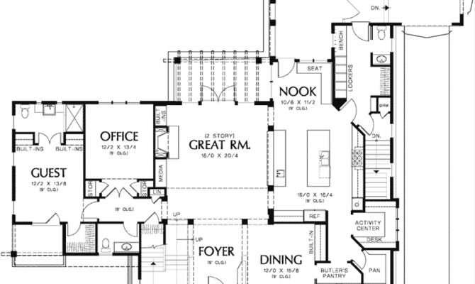 Yukon Harbor Vacation Home Plan House Plans