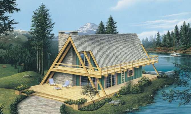 Yukon Rustic Frame Home Plan House Plans
