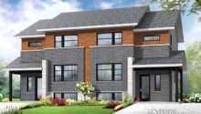 Zen Contemporain Duplex Triplex Maison Laprise